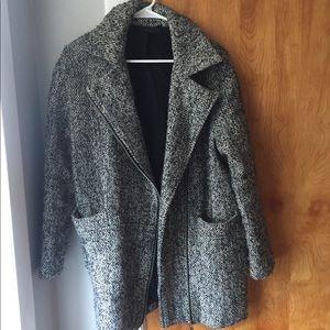 Topshop Fall/Winter Coat in Gray